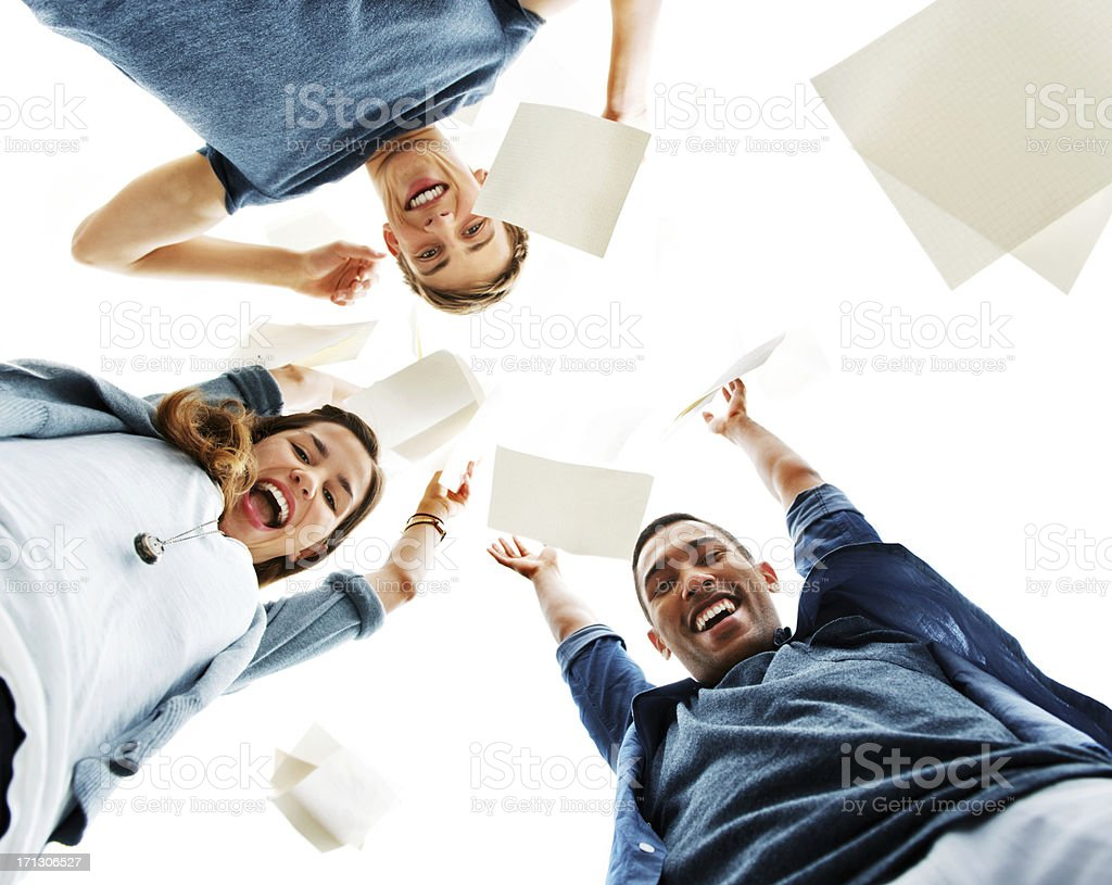 School is over royalty-free stock photo