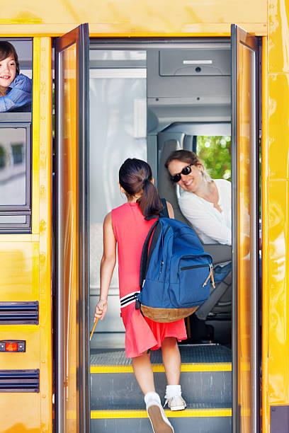 School kids going back to school - Photo