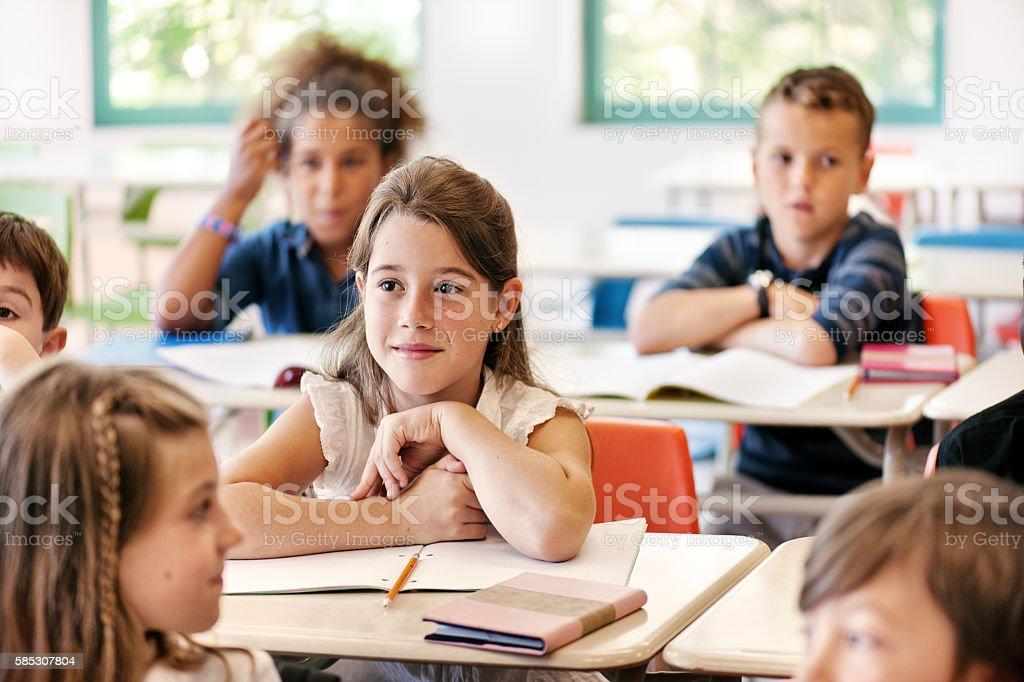 School kids in classroom – Foto