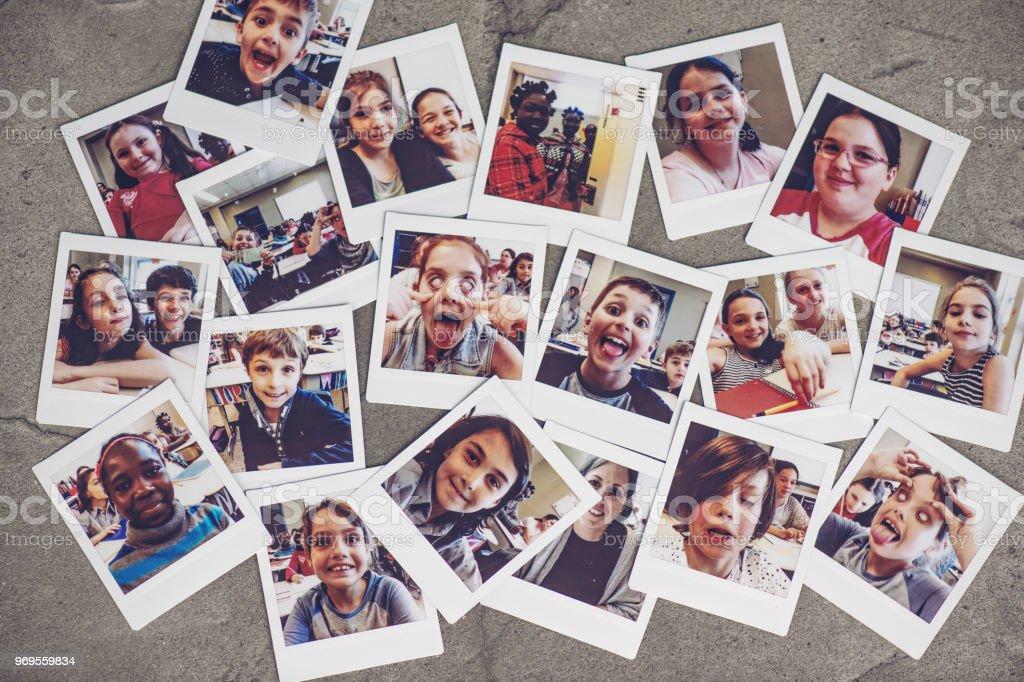 Schule Kinder instant Porträts – Foto
