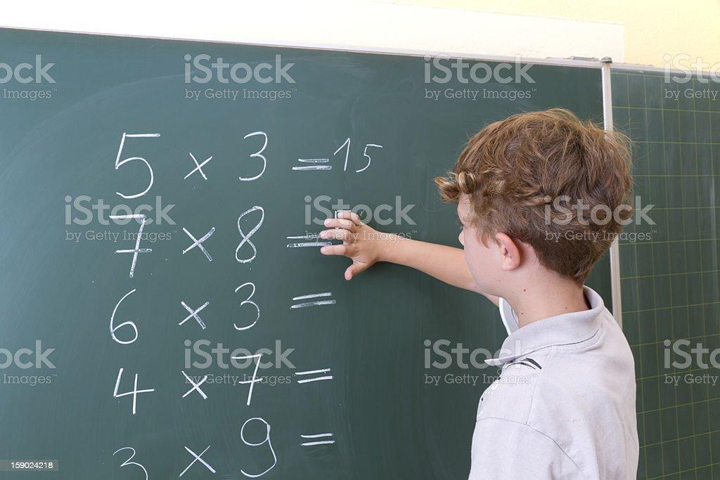 School lesson royalty-free stock photo