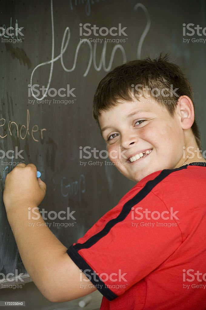 School lesson royalty-free stock photo