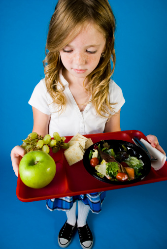School Lunch Stock Photo - Download Image Now