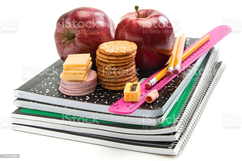 School Lunch royalty-free stock photo