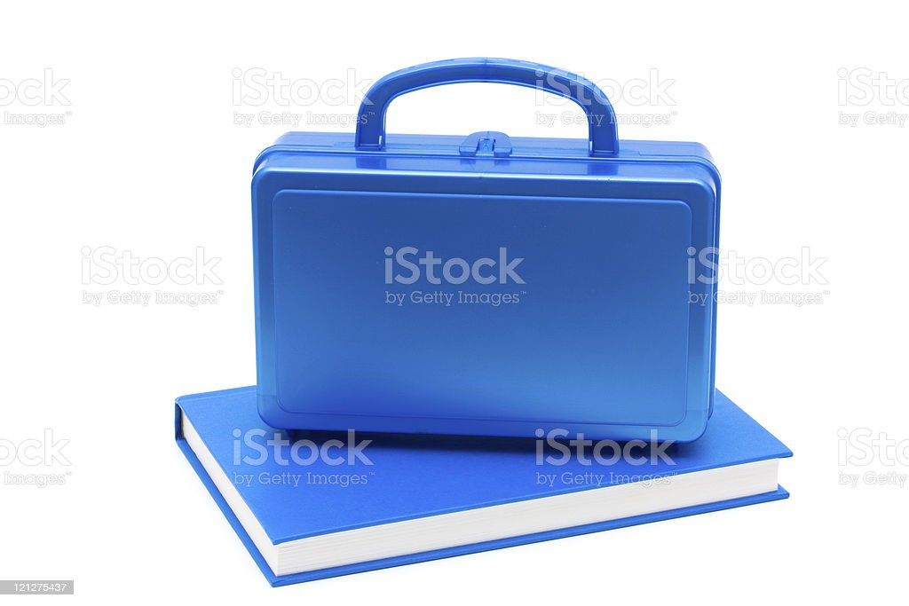 School Lunches stock photo