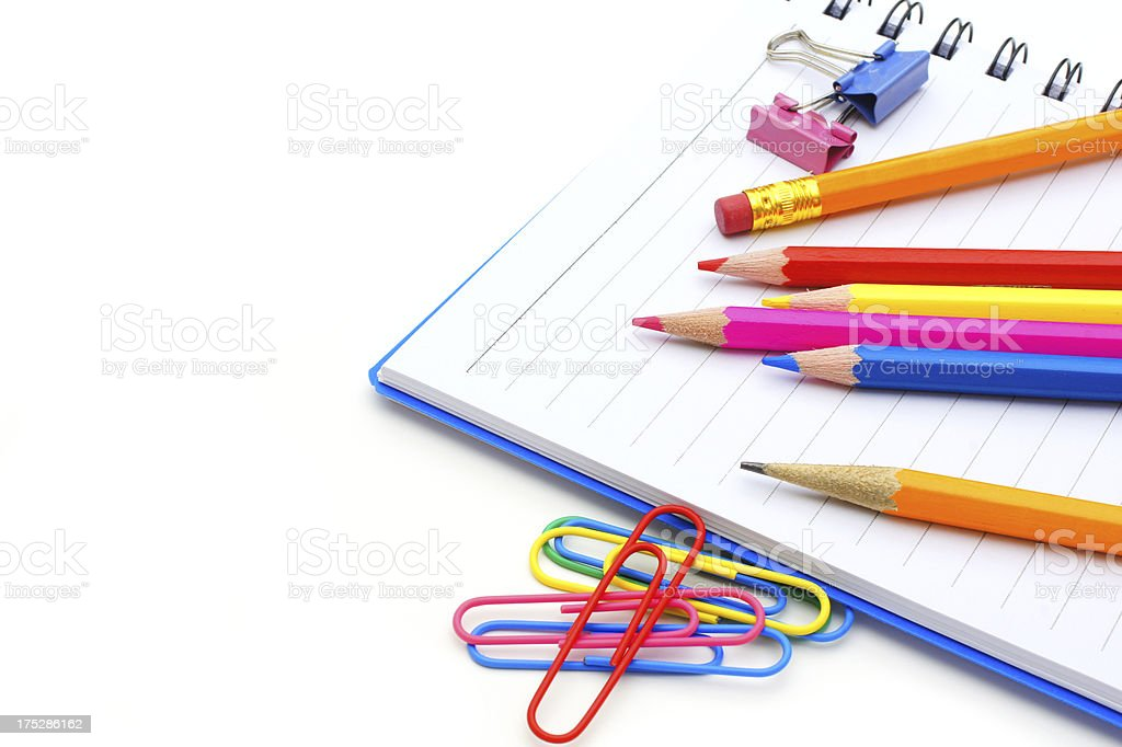 School notebook royalty-free stock photo