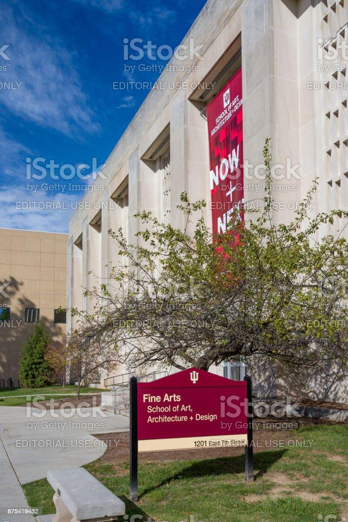 School of Art, Architecture and Design stock photo