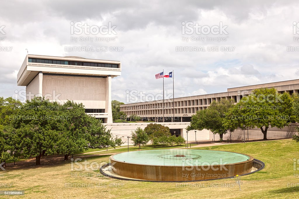 School of Public Affairs in Austin, Texas stock photo
