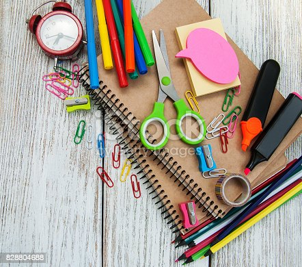 istock school office supplies 828804688