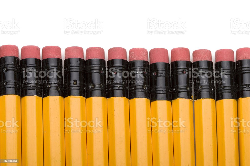 School pencils royalty-free stock photo