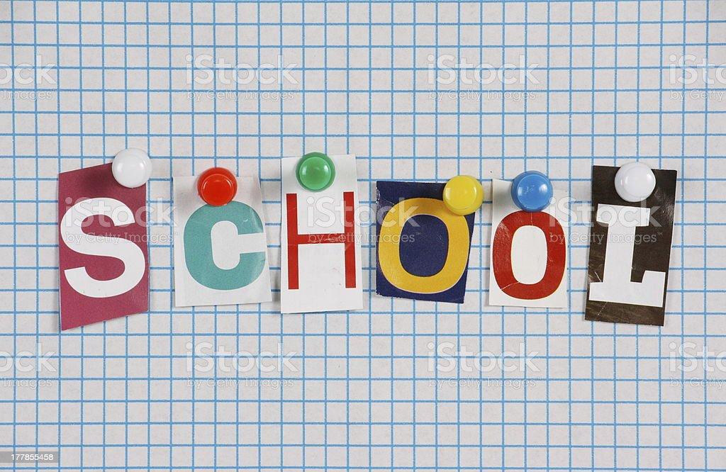 School royalty-free stock photo
