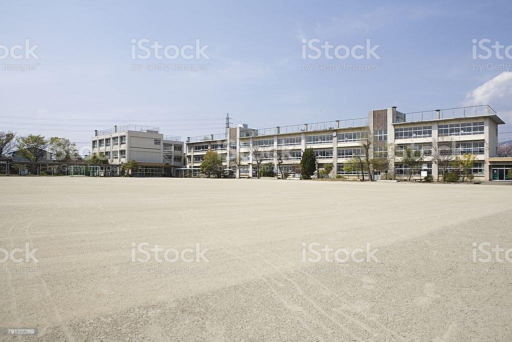 Uma escola - foto de acervo