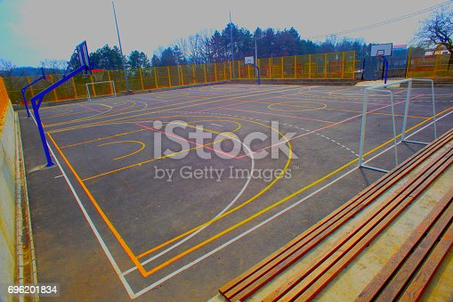 1045032684 istock photo school playground 696201834