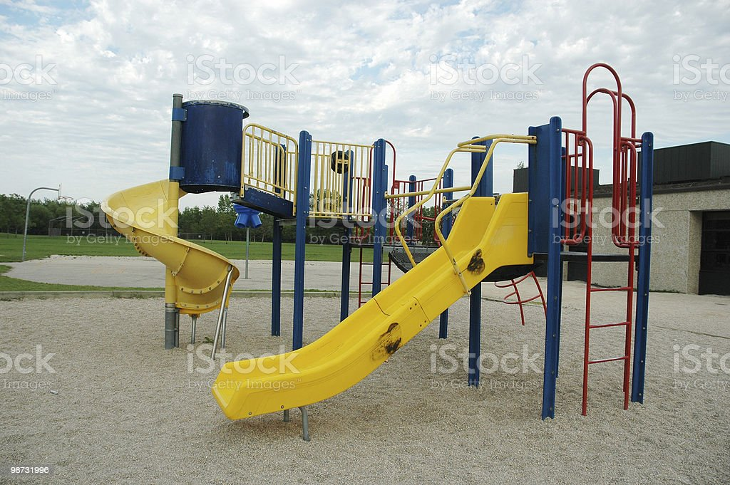 Escola playground foto royalty-free