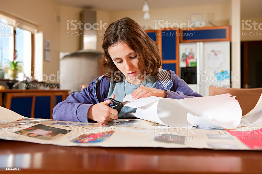 School Project royalty-free stock photo