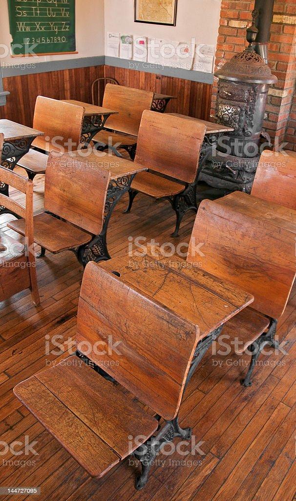 School Room - High View stock photo