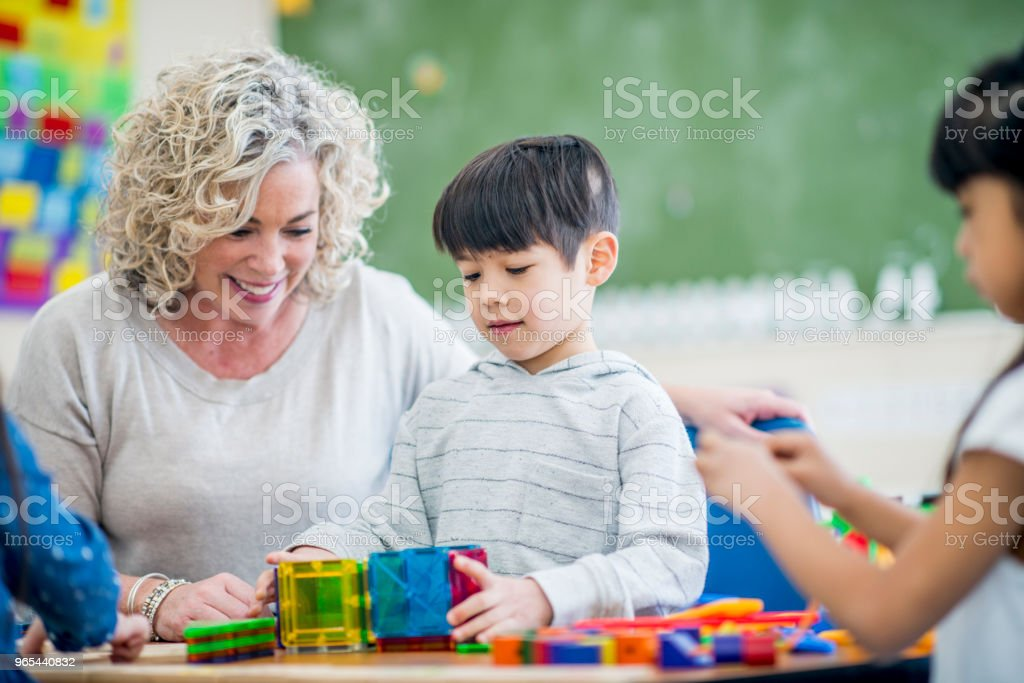 School Scene royalty-free stock photo