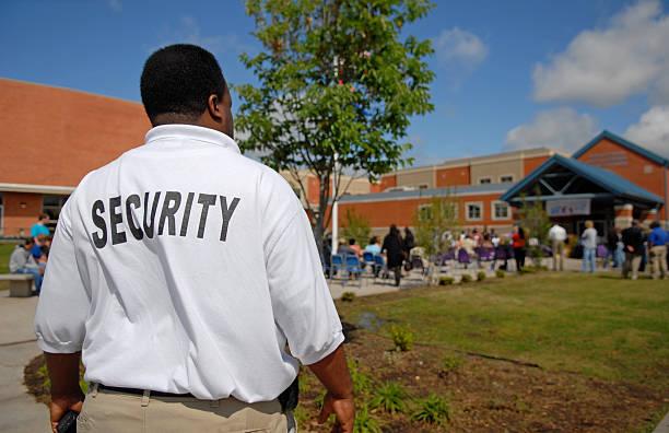 School-Security Guard – Foto