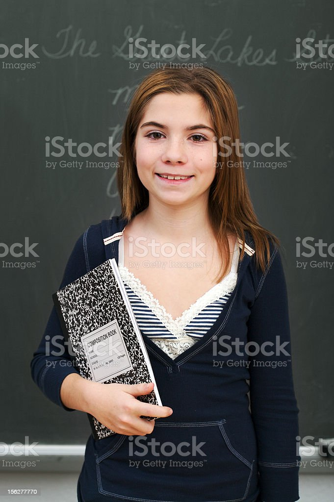 School Series royalty-free stock photo