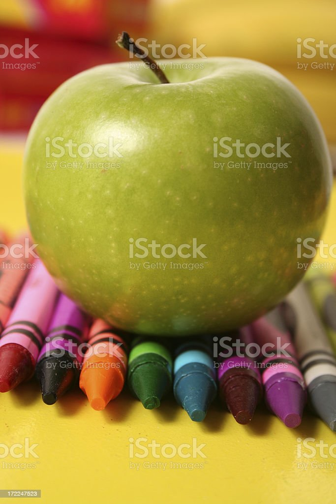 School Series royalty-free stock photo