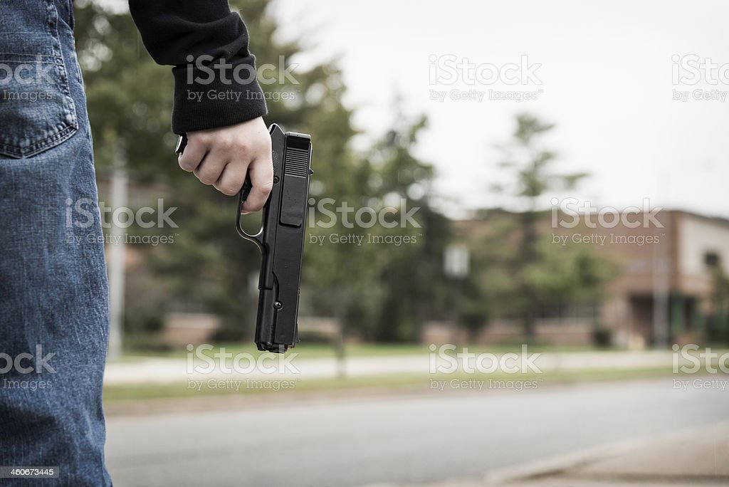 School Shooter Stock Photo & More Pictures of Copy Space | iStock