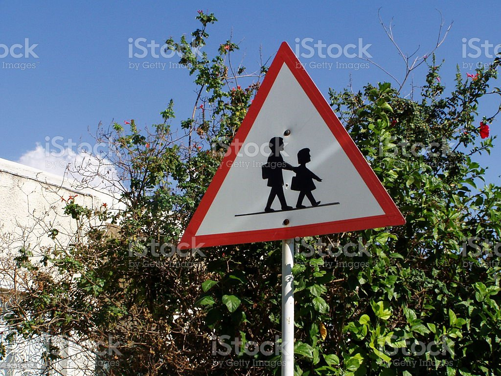 School sign royalty-free stock photo