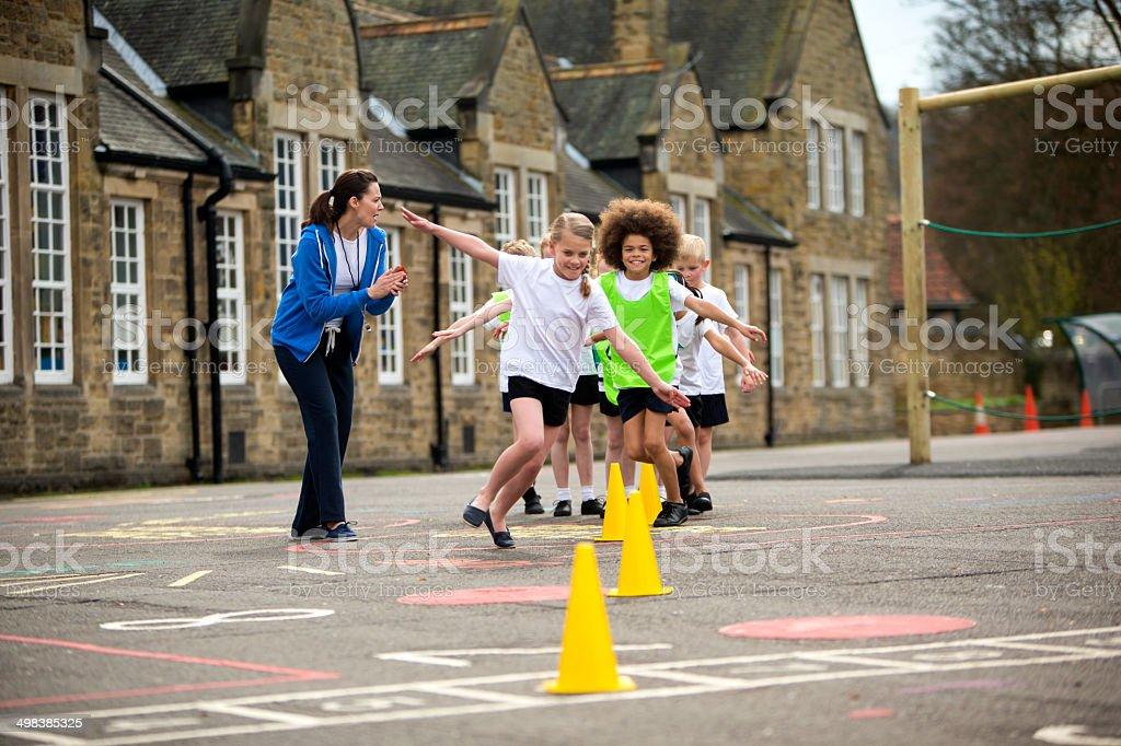School Sports stock photo