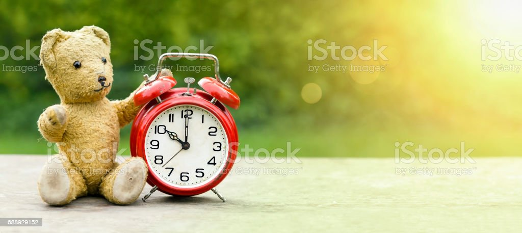 School summer time concept stock photo