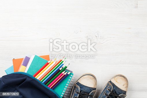 istock School supplies 683970920