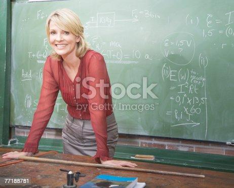 istock A school teacher 77188781
