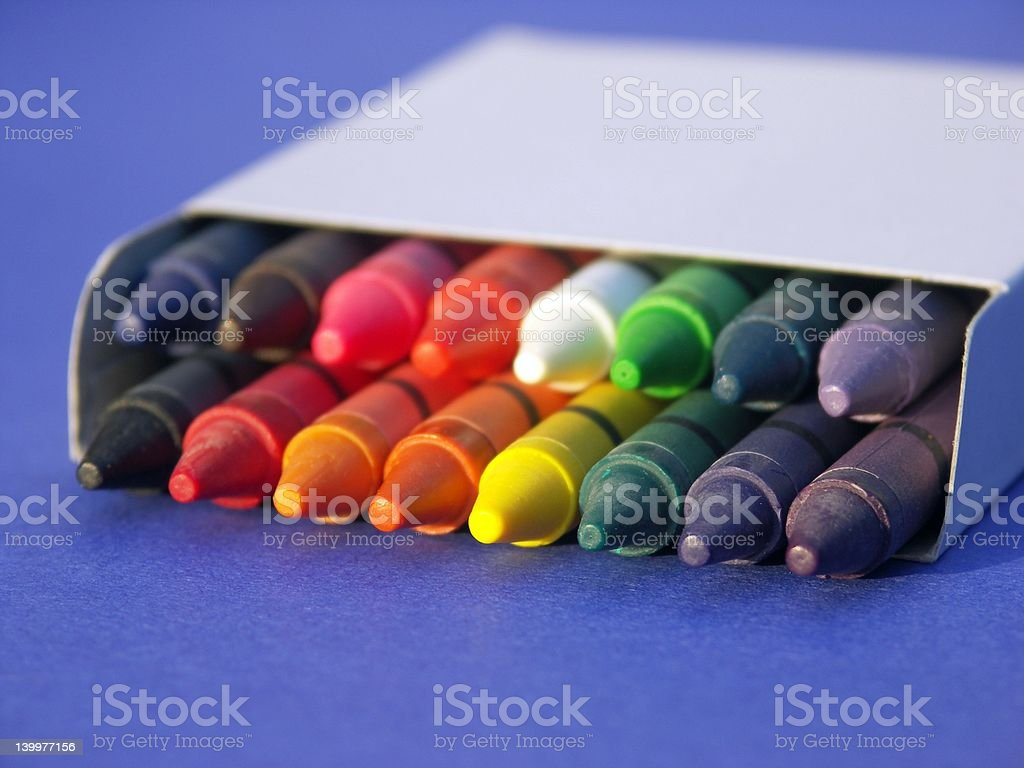 School Time Rainbows stock photo