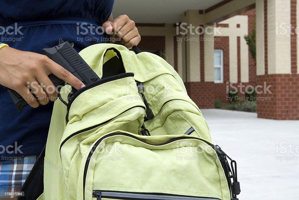 school vioence stock photo