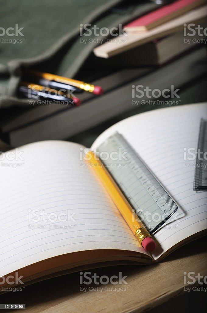 School Work royalty-free stock photo