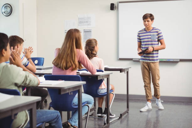 royalty free high school presentation pictures images and stock
