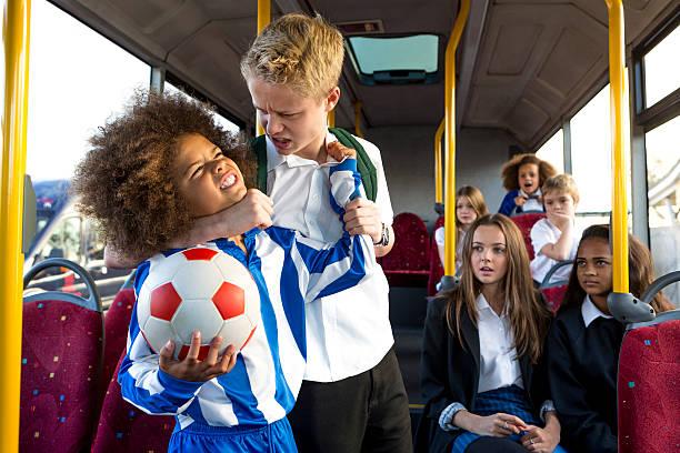 Schoolbus Bully stock photo
