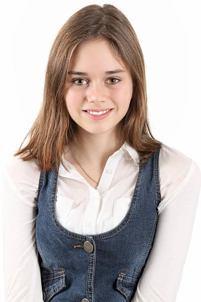 Schoolgirl Stock Photo