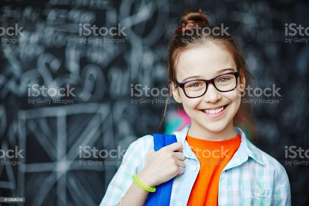 Schulkind-Nur Mädchen – Foto