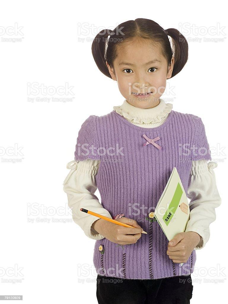 Schoolgirl 免版稅 stock photo