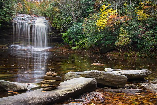 Schoolhouse Falls - foto de stock