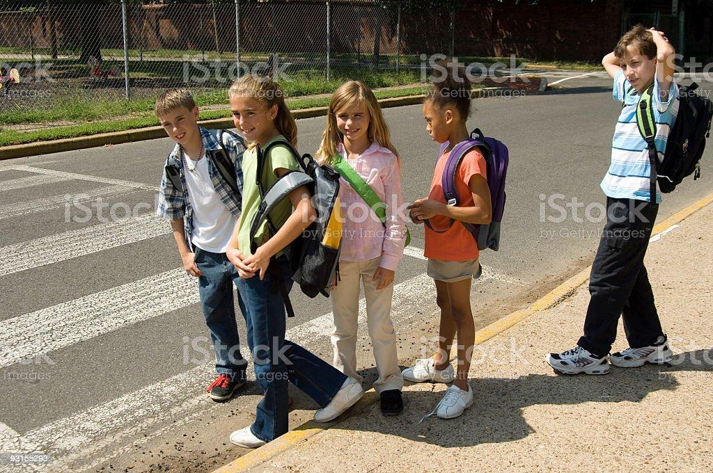 School's in session stock photo