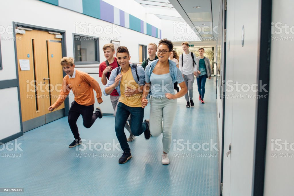 School's Out For Summer! stock photo