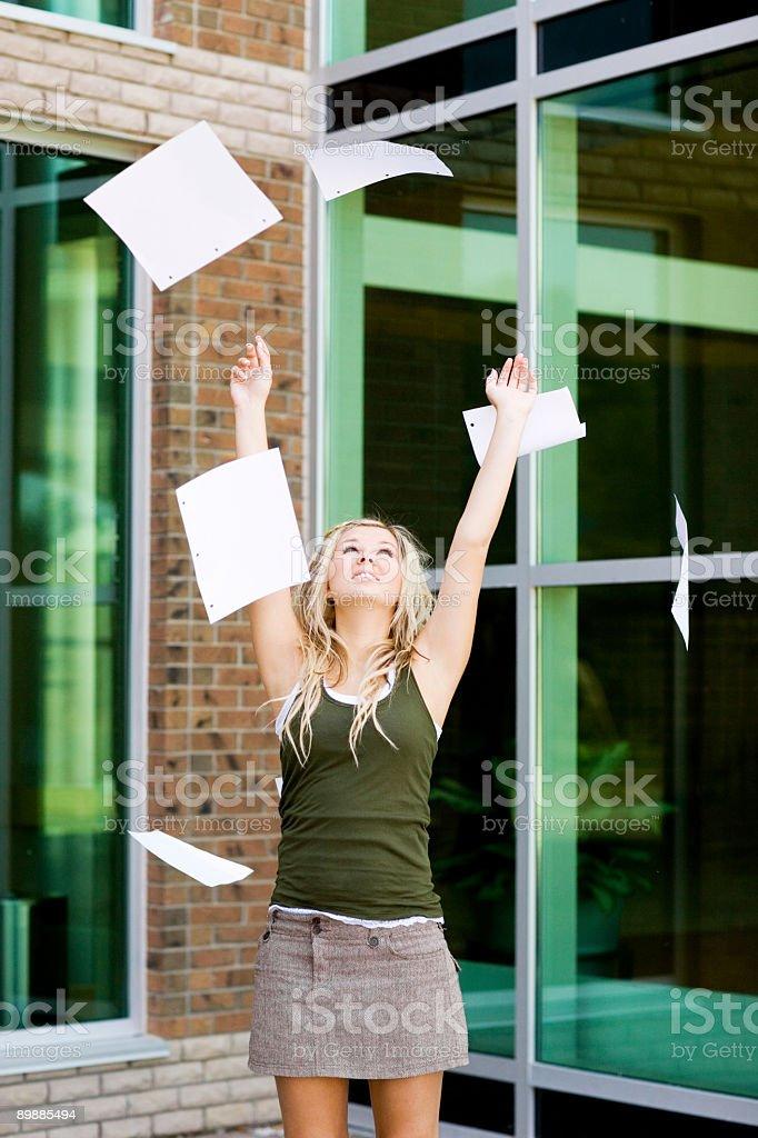 Las escuelas Out foto de stock libre de derechos