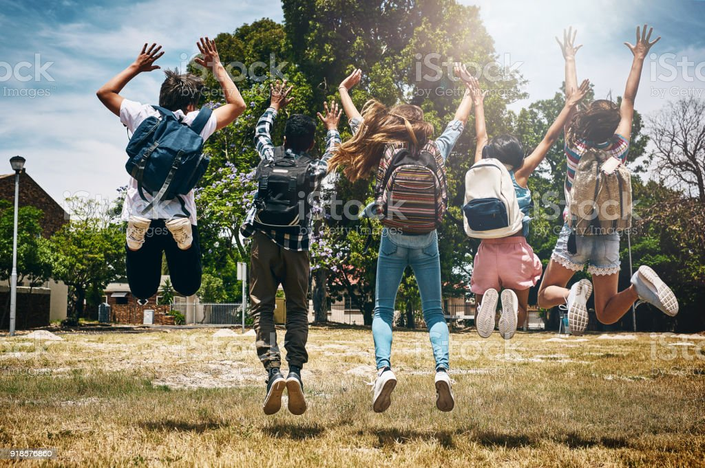 School's out! stock photo