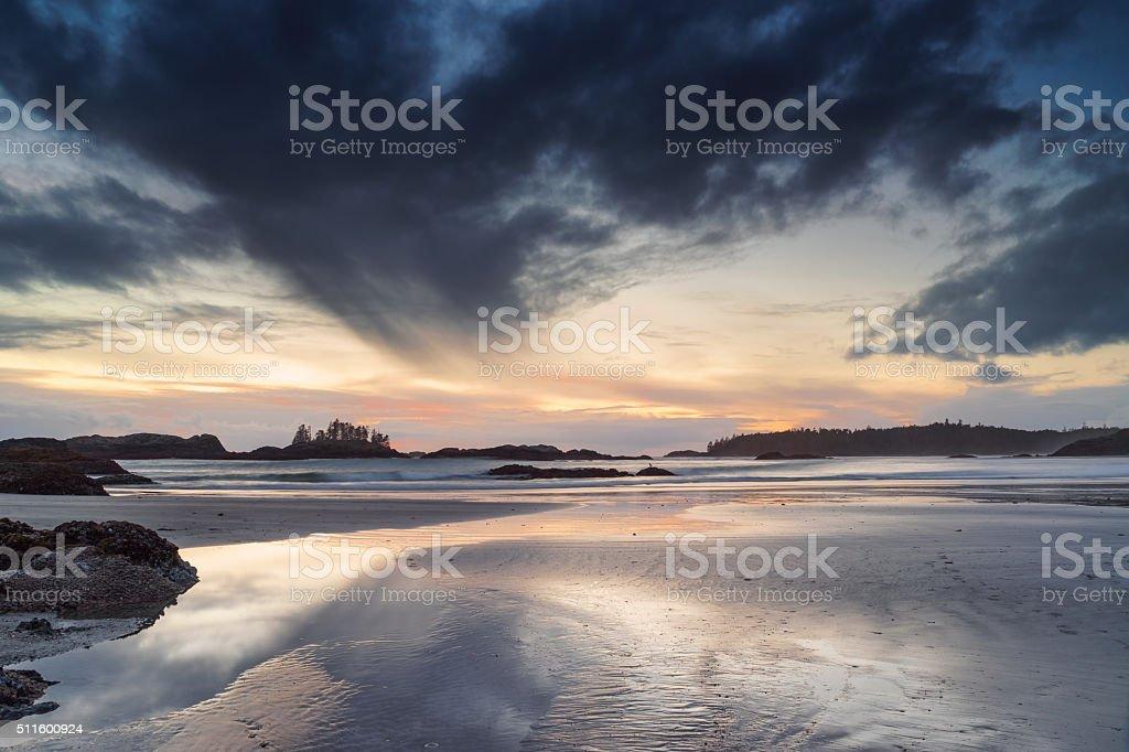 Schooner Cove, Tofino, British Columbia stock photo
