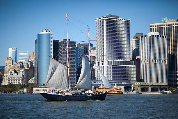 NYC Schooner  south street seaport stock pictures, royalty-free photos & images