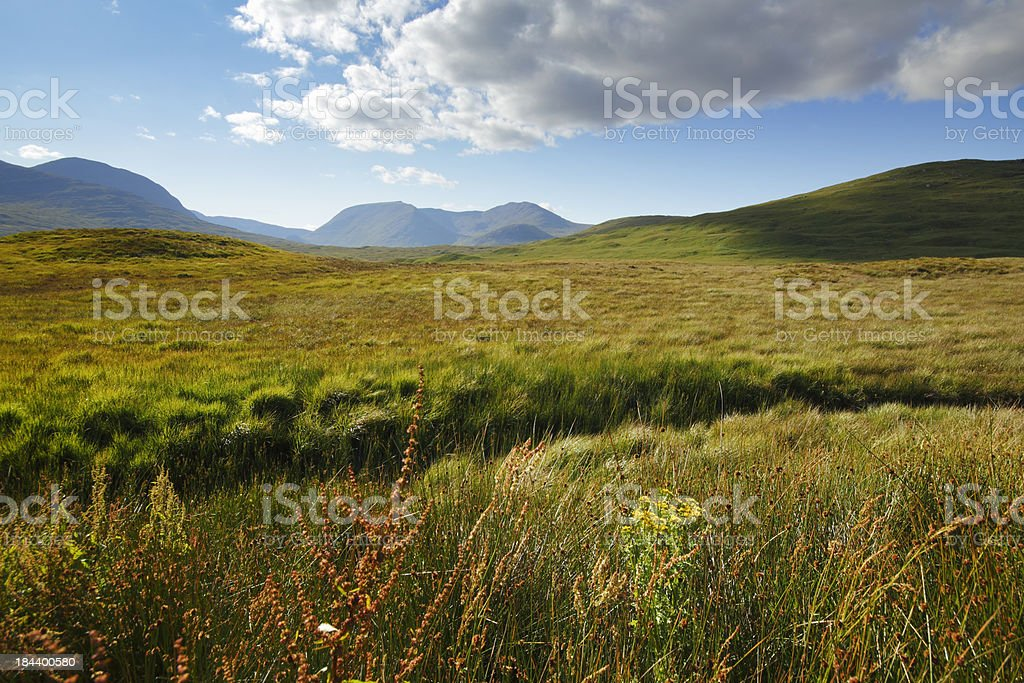 Schotland landscape stock photo