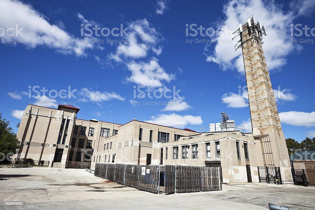 Schubert Elementary School in Belmont Cragin, Chicago royalty-free stock photo