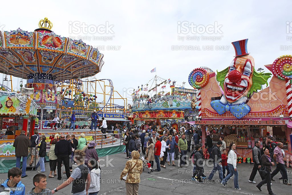 Schueberfouer, Luxembourg royalty-free stock photo