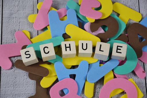 Schule - the german word for school