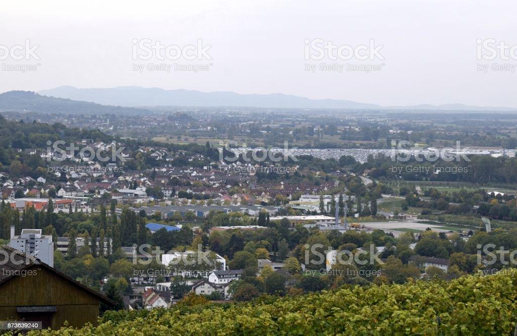 Schutterlindenberg view stock photo